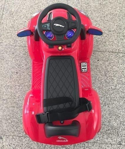 Электромобиль-толокар Jaguar F type (музыка, пульт, свет фар, ремень безопасности)