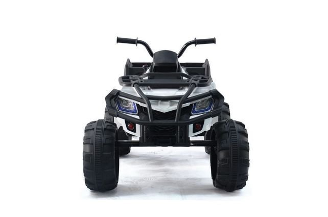 Электроквадроцикл Grizzly Next Т009МР 4WD черный (АКБ 12v 10ah, колеса резина, сиденье кожа, пульт, музыка)